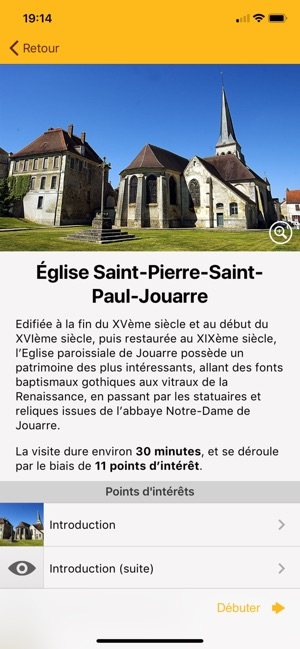 Eglise Saint-Pierre-et-Paul de Jouarre sur l'application mobile