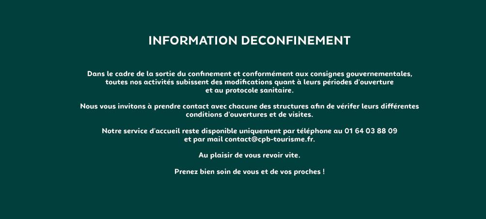 Information Déconfinement