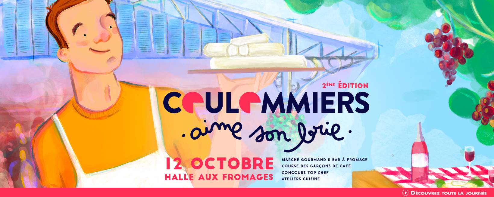Coulommiers aime son Brie - 12 octobre 2019 à la Halle aux Fromages de Coulommiers