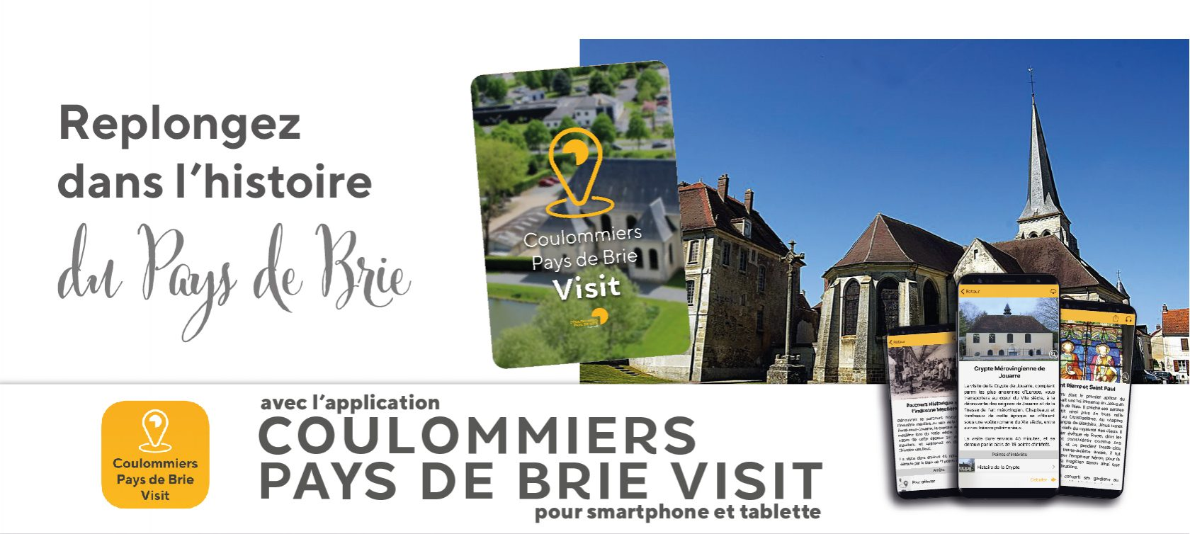 L'application Coulommiers Pays de Brie Visit'