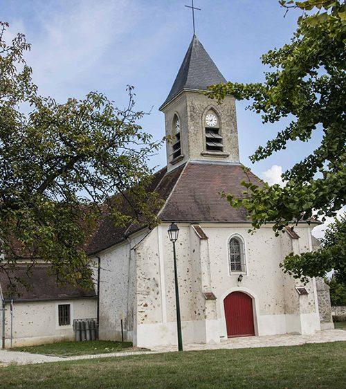 église de la brie