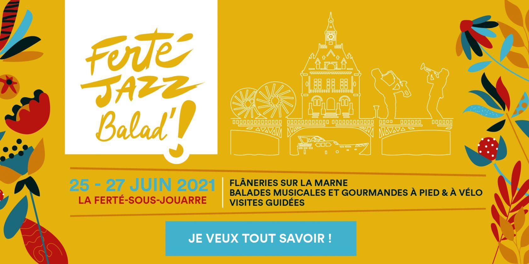# Ferté Jazz Balad' 2021 - Balades musicales et gourmandes - Flâneries sur la Marne - Visites guidées