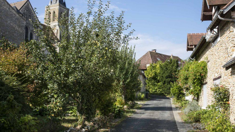 Rue-de-l'Eglise-Guérard-Crédit : Loic Seron