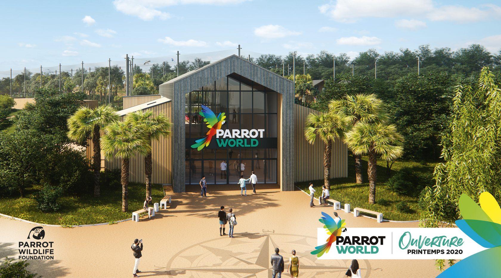 PARROT-WOLRD_Accueil