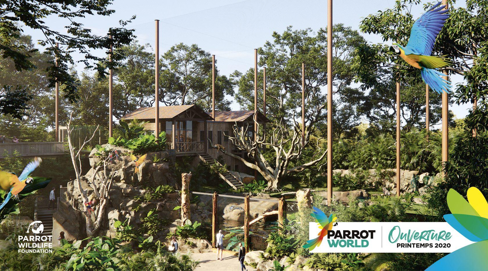 PARROT-WOLRD_Enclos_Jaguars