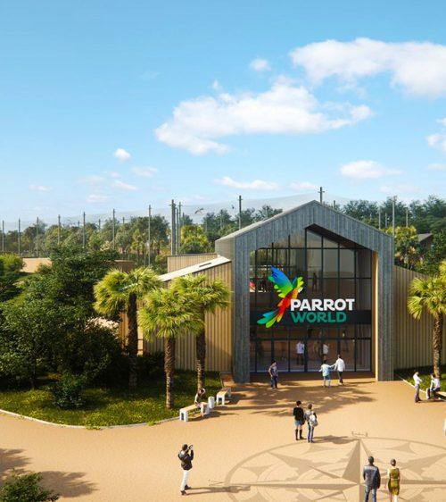 Parrot World Entrée